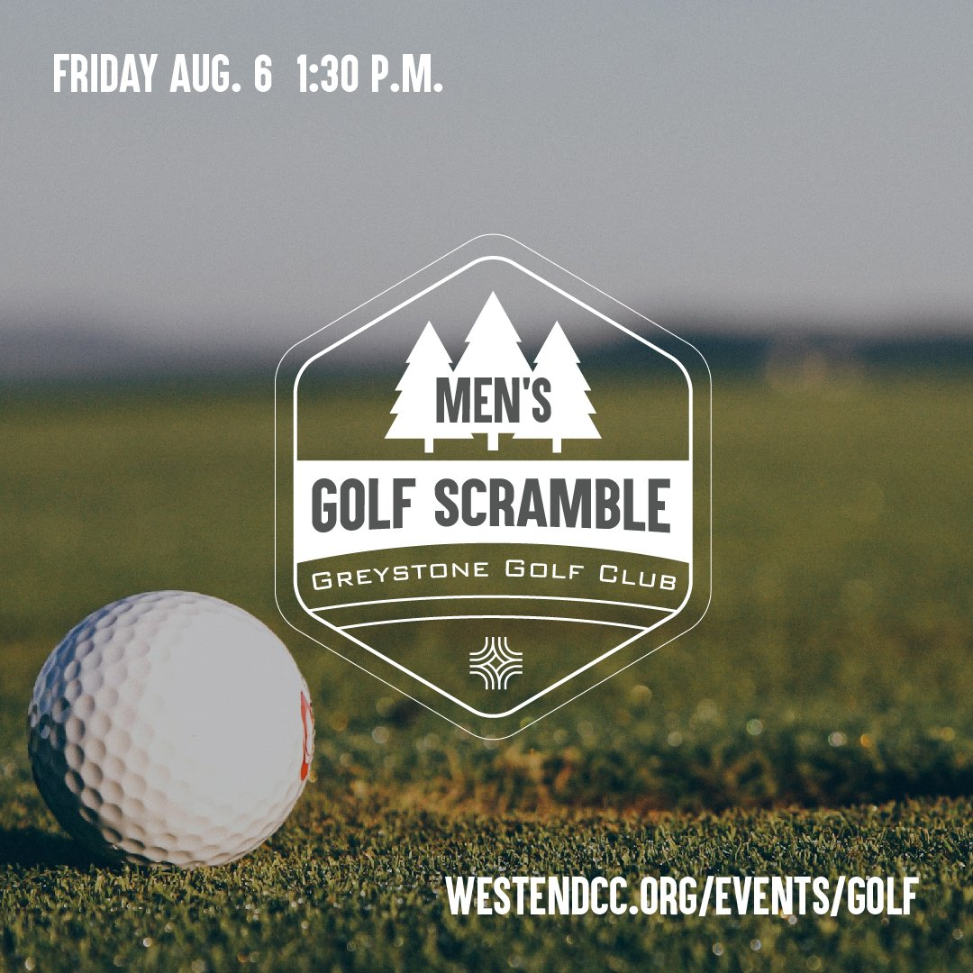 4th Annual Men's Golf Scramble